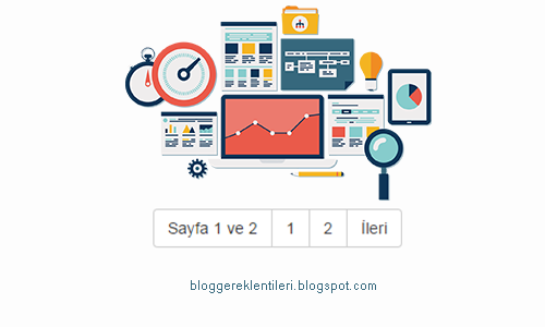 Blogger Sayfa Numaralı Eklentisi