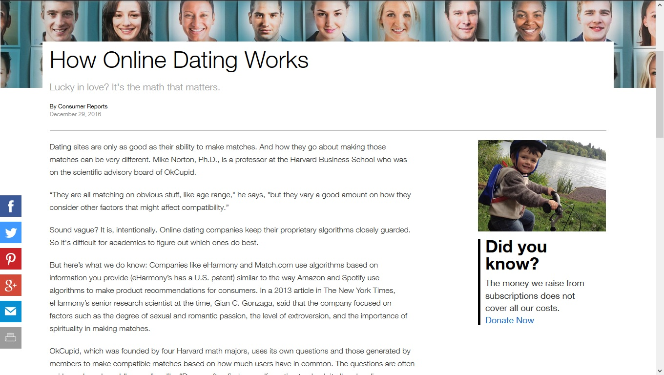 consumer report best dating site