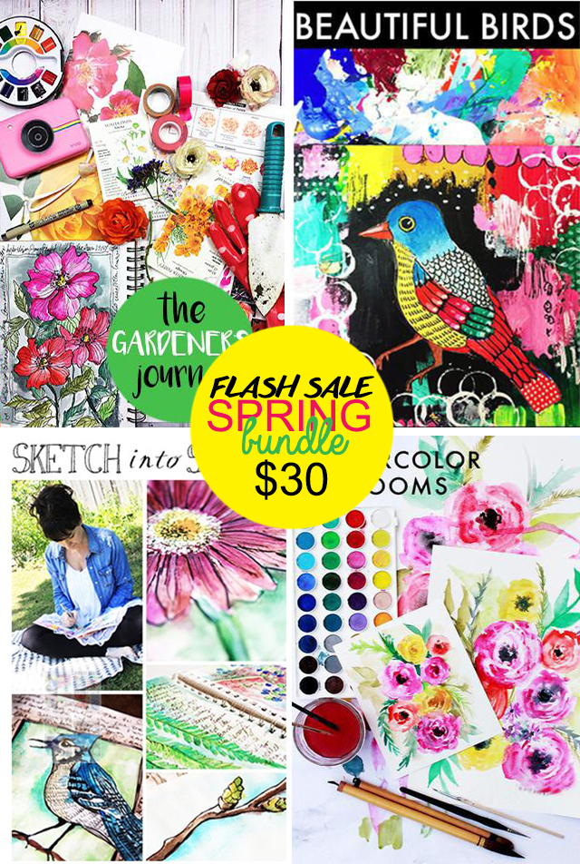 spring bundle- 24 hour flash sale!