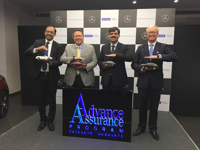 Mercedes-Benz India along with Daimler Financial Services India expands its offering by launching an innovative extended warranty product- 'Advanced Assurance Programme'