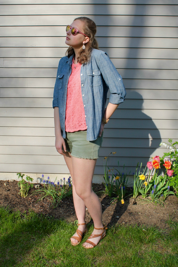 casual spring or summer outfit