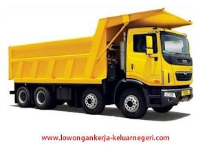 Lowongan Kerja Driver Dump Truck di Brunei darussalam-Info hub Ali Syarief Hp. 081320432002