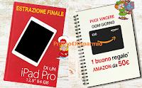 Logo Loacker ''Scuola che Bontà'': vinci 35 buoni Amazon da 50€ e iPad Pro