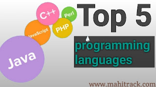 Programming languages, top 5 programming languages