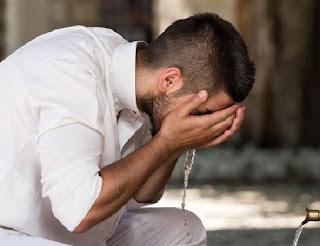Tata Cara Wudhu, Syarat ,Rukun, Doa, Apa saja yang Membatalkan