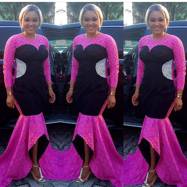 Checkout this Beautiful and Creative Aso-Ebi style rock over the weekend