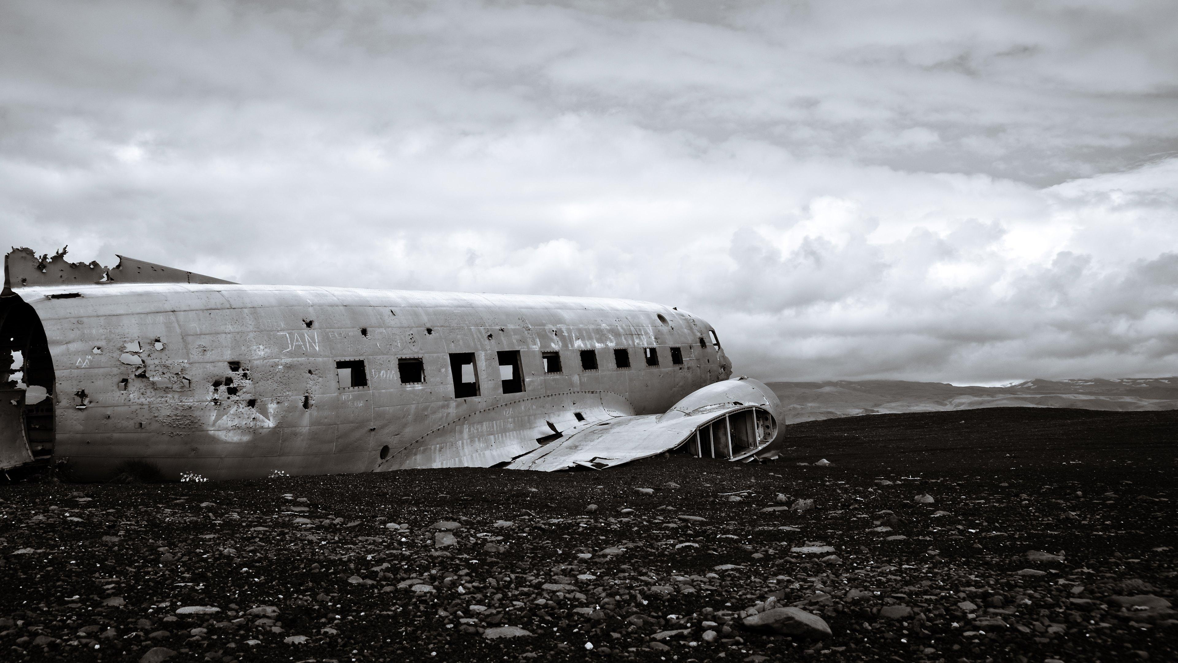 dc 3 plane wreck wallpaper hd wallpapers