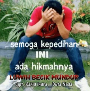 Lirik Lagu LBM (Luwih Becik Mundur) - Sahid Indra