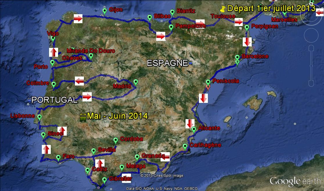 Aire De Camping Car Au Sud Du Portugal