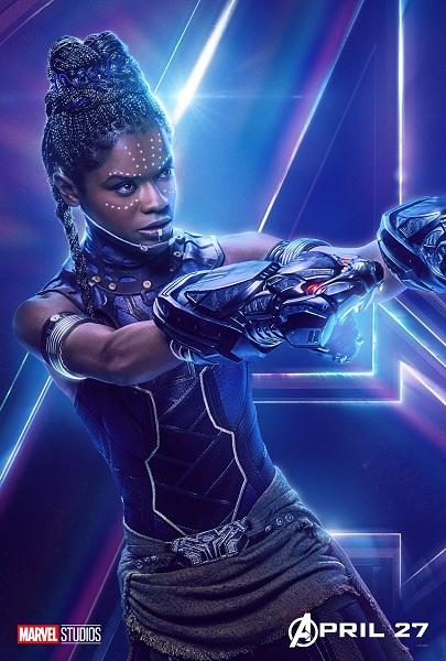Avengers: Infinity War Shuri
