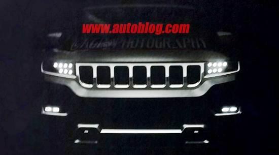 2019 Jeep Grand Wagoneer Spy Shot