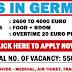 MEGA Job Vacancies In Germany – Apply Now