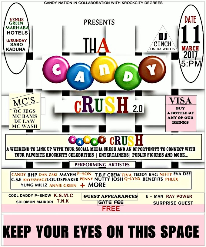 EVENT: #THACANDYCRUSH 2.0 (11TH MARCH, 2017)
