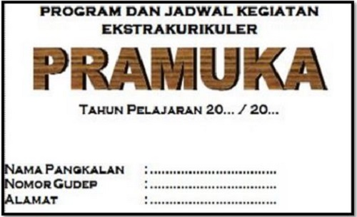 Download Program Dan Jadwal Kegiatan Ekstrakurikuler Pramuka SD SMP SMA SMK Tahun 2017/2018
