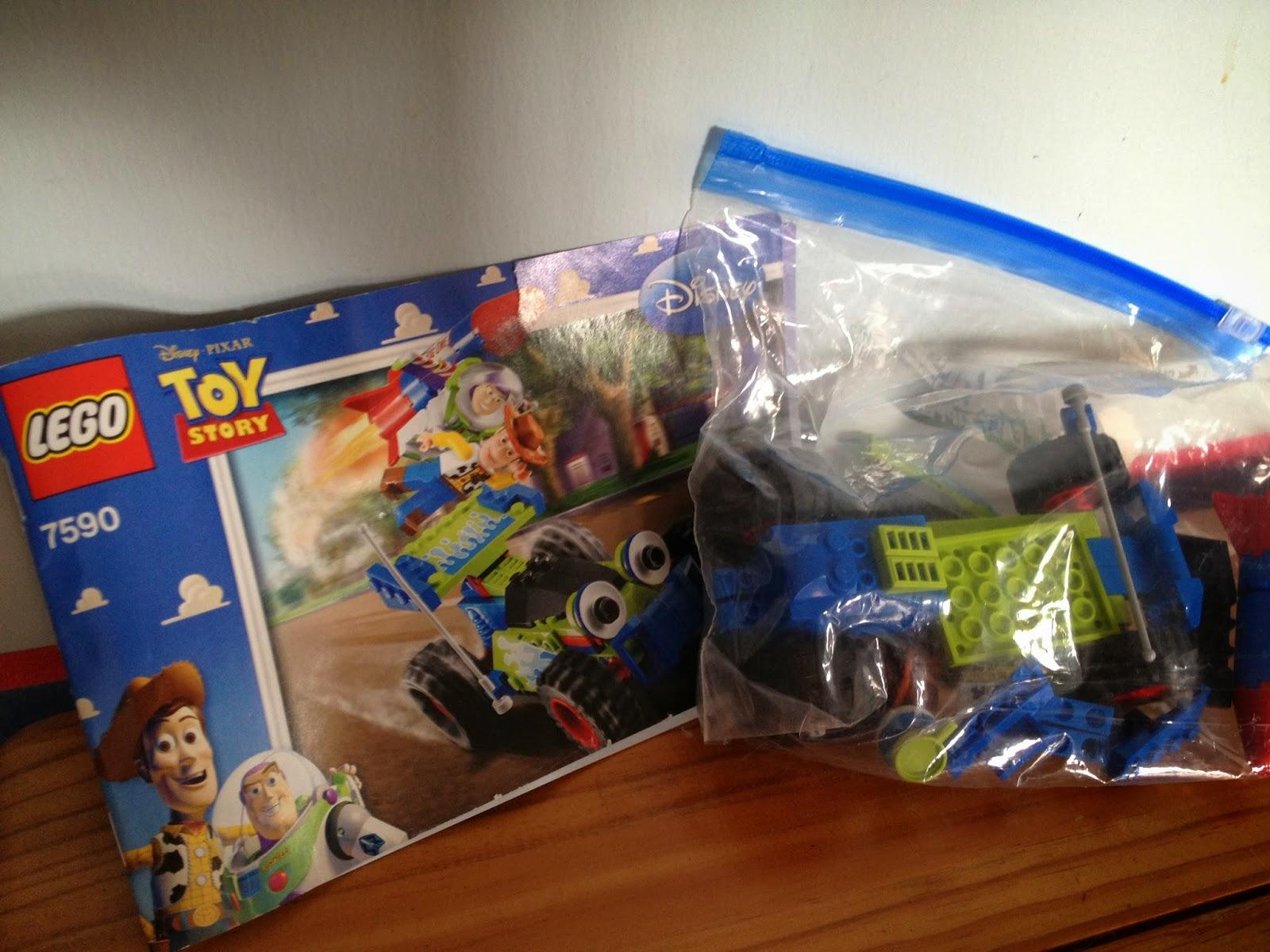Dan The Pixar Fan Lego Toy Story Rc