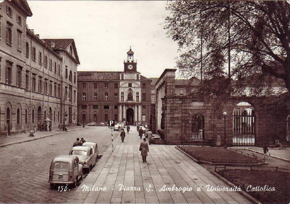 università cattolica, piazza sant'Ambrogio