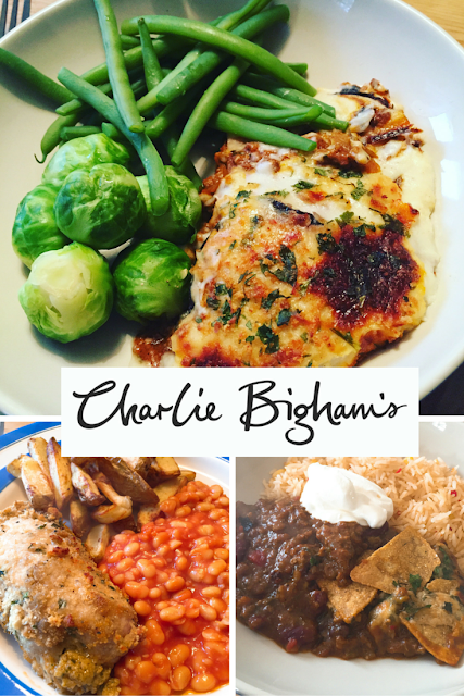 three Charlie Bigham's ready meals cooked