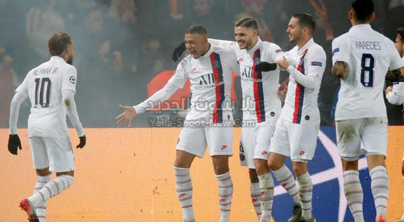 باريس سان جيرمان يحقق فوز كاسح على فريق غلطة سراي في نهاية دور المجموعات من دوري أبطال أوروبا