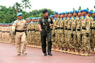 Tingkatkan Terus Kapasitas dan Kualitas TNI dalam Misi Perdamaian PBB