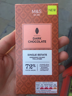 Marks and Spencer Mindanao Island Dark Chocolate