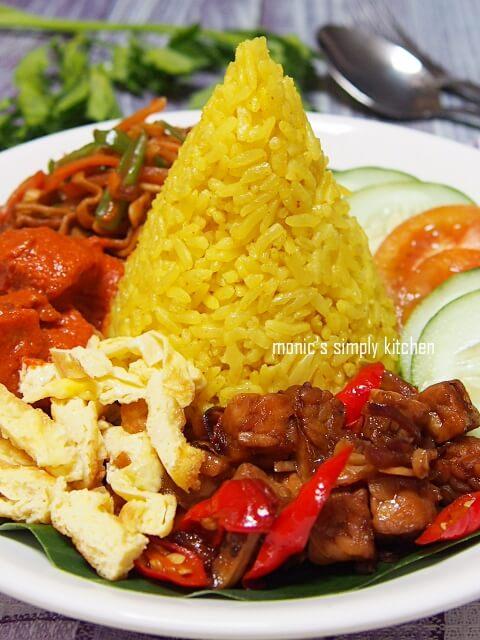 resep nasi tumpeng sederhana