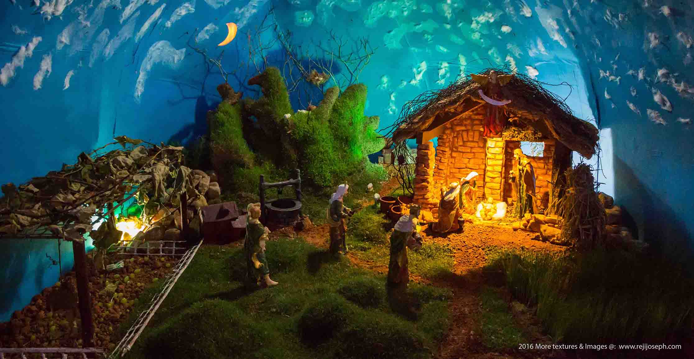 Christmas crib Pulkoodu St. George Forane Church Edappally 00010