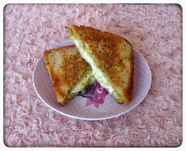 Snack #6 : Croq' Pesto Jambon Mozzarella
