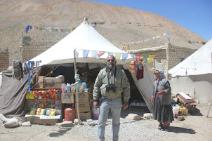 A Tent Dhabba on the Mountain route from Leh to Keylong.