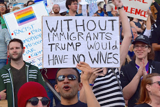 Without Immigrants Trump Would Have No Wives