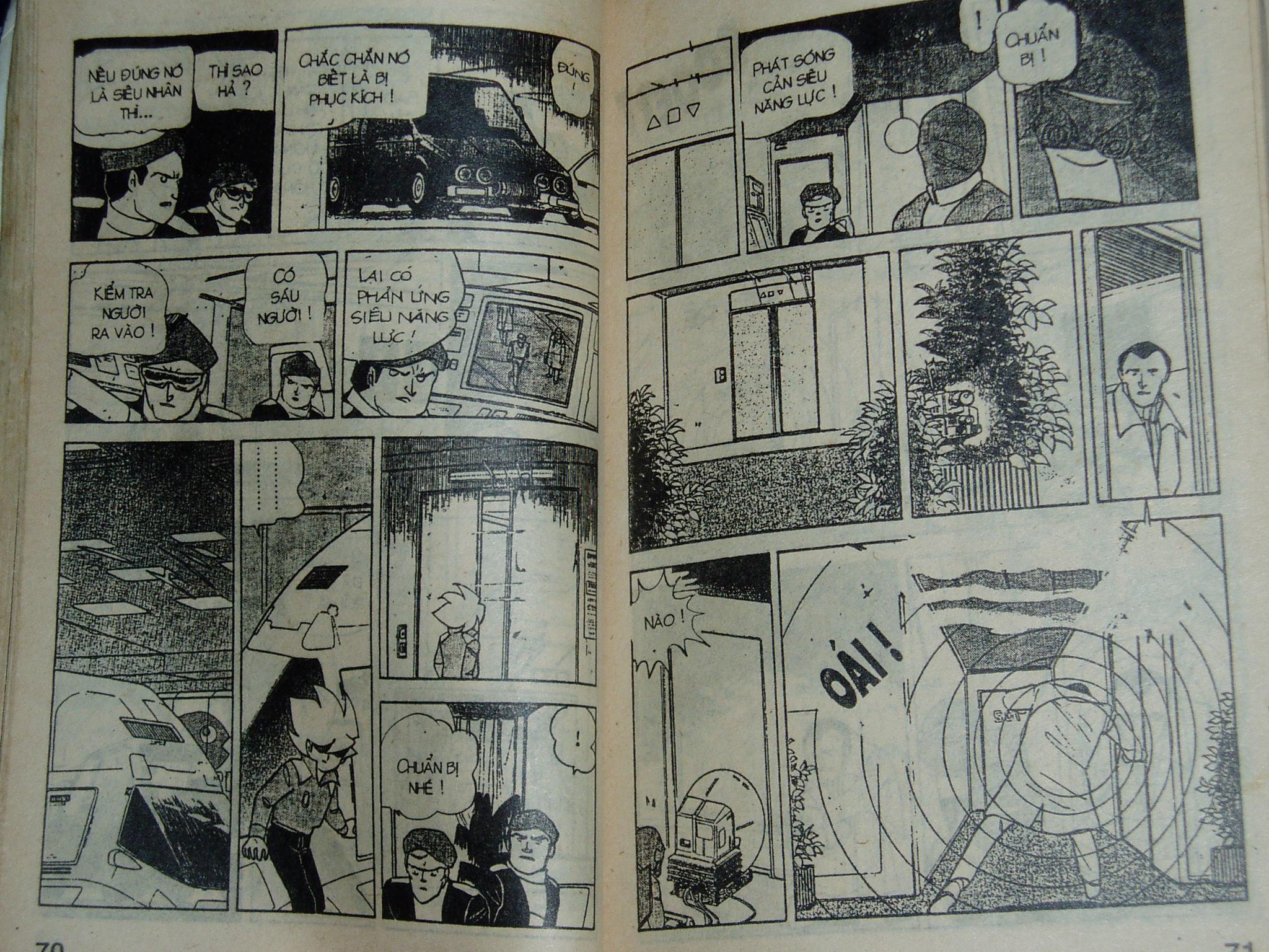 Siêu nhân Locke vol 16 trang 34