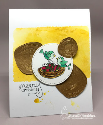 Holiday Tweets | Newtons Nook Designs | Card Created by Danielle Pandeline