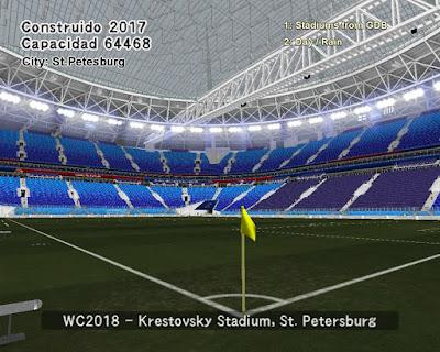 PES 6 Stadiums Krestovsky Stadium ( World Cup 2018 )