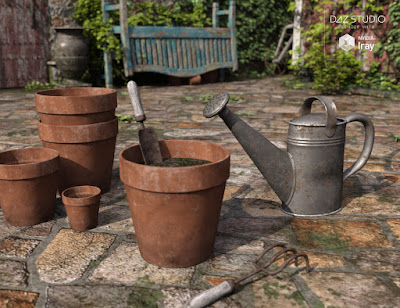 Old Garden - Props and Tools