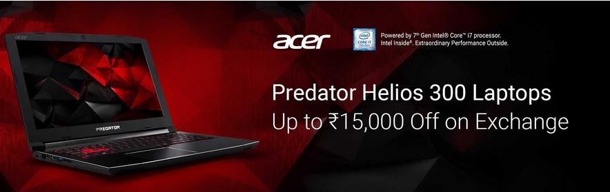 Acer Predator Helios 300 Laptops
