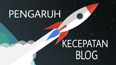 Kecepatan blog terhadap seo