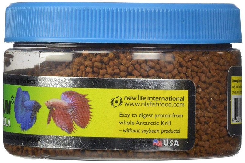 Best Food for Betta Fish-New Life Spectrum Betta Formula Semi-Float Pet Food