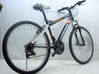 4 Sepeda Gunung BESTFRIEND TANGO 18 Speed Shimano 26 Inci