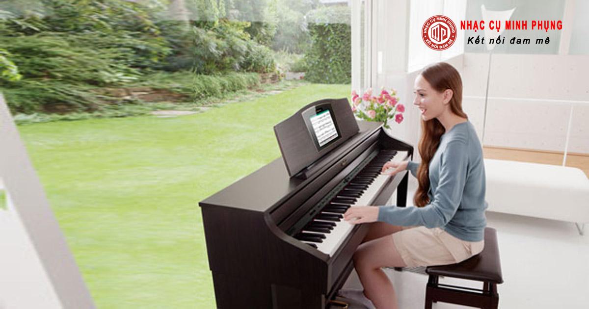 các dòng piano điện yamaha