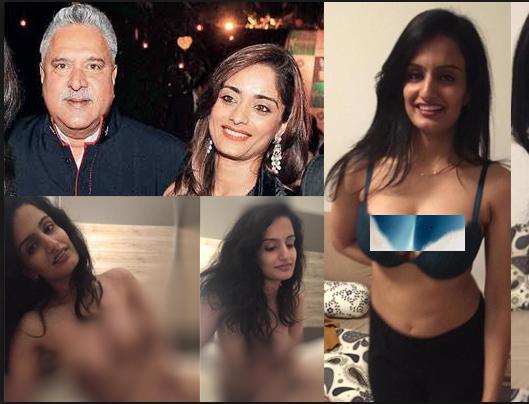 Vijay Mallyas 3rd wife Pinky Lalwani private photos gone viral social media