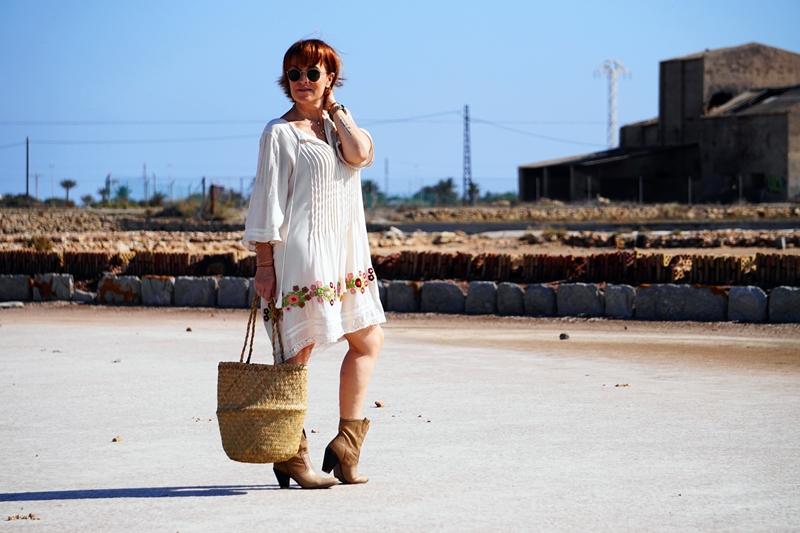 Almamodaaldia - Vestido Bordado