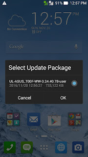 Tutorial Upgrade Asus Zenfone 5 Kitkat To Lollipop Tanpa PC