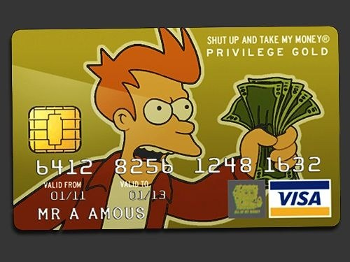 Credit card Privilege Gold. BillionaireGambler.com