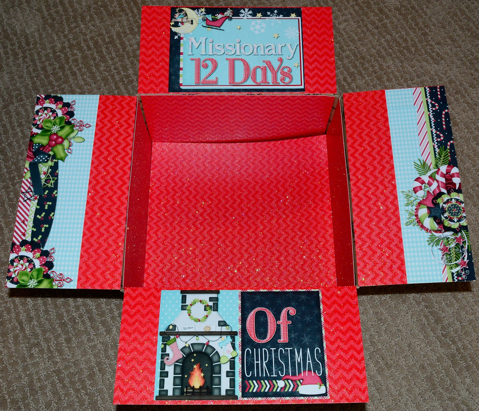 12 days of christmas gift ideas for lds missionaries girlfriends
