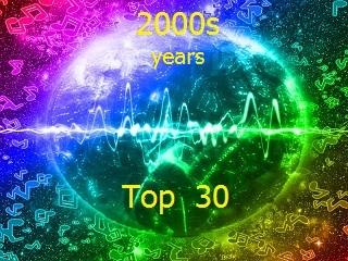 2000-es évek Top 30 zene