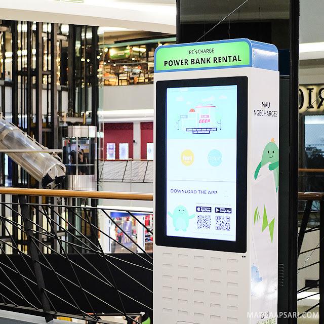 ReCharge Power Bank Indonesia fX Jakarta