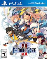 Demon Gaze 2 Game Cover PS4