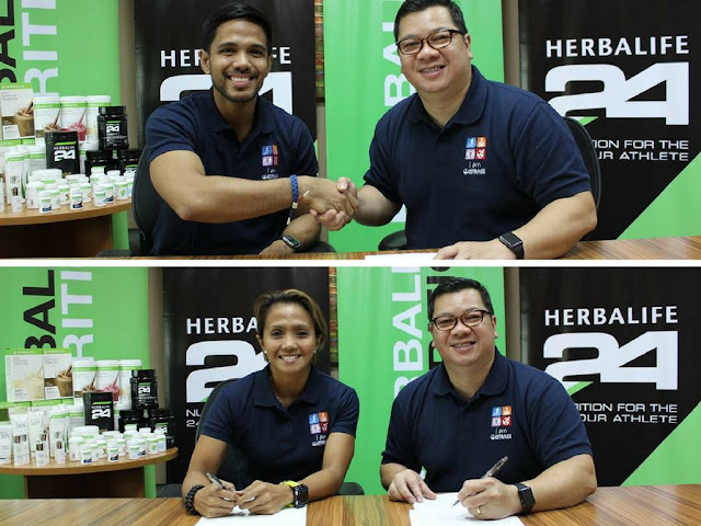 Herbalife Nutrition Philippines Renews Contracts with Fitness Ambassadors Chappy Callanta and Dwan Abantao