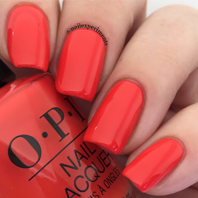 opi lisbon a red-vival city swatch