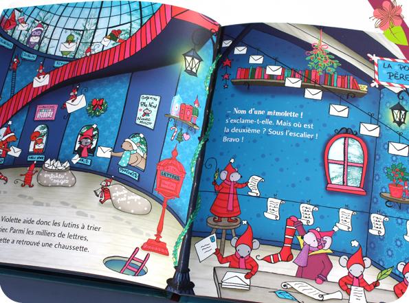 Une aventure de Violette Mirgue - Une semaine pour sauver Noël de Marie-Constance Mallard - éditions Privat