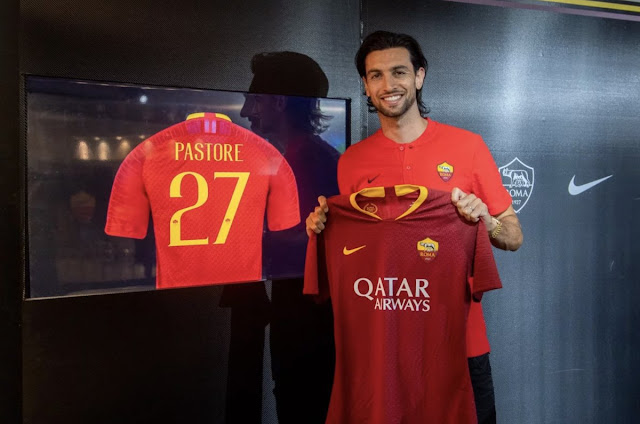 Official: Javier Pastore joins AS Roma from PSG for €24.7m